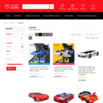 Luxury Race Car Beds $1149 LED Light Line and Music Player ($50 off) @ Hurry Guru