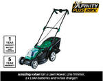 Xfinity Plus 20V Mower and Line Trimmer Kit for $199 @ ALDI