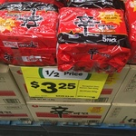 Nongshim Shin Ramyun Noodles Pk 5 $3.25 @ Woolworths