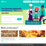 Deliveroo – $1 Delivered Deals at Participating Restaurants from 1pm Daily (10 to 13 November 2020)