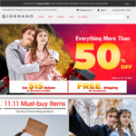 GIORDANO | Free Shipping on All Orders + More than 50% off Everything + Get $15 Rebate with $80+ Purchase