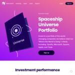 Double ($10) Referral on Spaceship Voyager (Minimum $5 Deposit) for November 2020