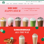 50% off Previous Campaign Merchandise @ Starbucks (In-Store Only & Online)