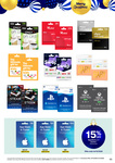 15% off iTunes Gift Cards (Excludes $20) @ Big W