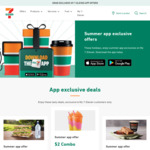 7-Eleven App-Exclusive Offers: BOGOF Slurpee $2 or Super Coffee $3, Coffee + Banana Bread $2, Pizza & Coca-Cola 375ml $4