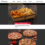 3 Traditional or Vegetarian Plant Based Pizzas $24 Delivered @ Domino's (App Only)