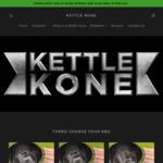 20% off Kettle Kone (Weber BBQ Accessory) - Compact $48, Standard $52, Super $60 Delivered @ Kettle Kone