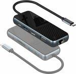 USB C HUB w/ Ethernet Port, 4K HDMI, 1080P VGA, 3 USB 3.0, 87W PD, Card Reader, Audio Jack $47.36 Delivered @ Arshcea Amazon AU