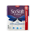 2000 Bonus flybuys Points (Worth $10) with Coles So Soft 3 Ply Hypo-Allergenic Toilet Tissue 32 Pack $13 @ Coles