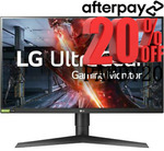"""[Afterpay] LG Ultragear 27GL850-B 27"""" - 144hz -1440p Monitor - $527.20 Delivered @ Shopping Express eBay"""