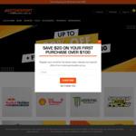 Up to 80% off Official Motorsport Merchandise + $20 off Your First Order over $100 @ Motorsportoutlet