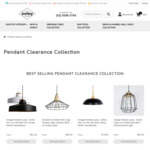 Further 50% off Selected Pendant Lamps from $19.98 + Free Shipping @ Lectory