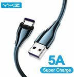 2x YKZ 5A USB to USB-C Cables 1m US$2.93 (~A$3.79) Delivered @ YKZ Official Store AliExpress