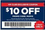 $10 off Order (Exclusions Apply, $10 Minimum Spend) @ Spotlight (VIP Members)
