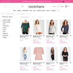 Women's Tops from $8 + $10 Delivery ($0 with $100 Spend) @ Rockmans