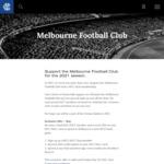 [VIC] Bonus $50 MCC Plus Card Credit with $89 Dual Melbourne Cricket Club / Melbourne Football Club Membership