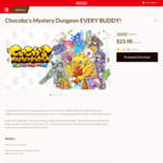 [Switch] Chocobo's Mystery Dungeon: Every Buddy! $23.98 / Bug Fables: The Everlasting Sapling $29.25 @ Nintendo eShop