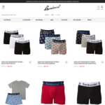 Bamboozld Trunks: 3-Pack $24.95, 1-Pack $9.95 + $9.95 Delivery ($0 with $60 Spend) @ Bamboozld