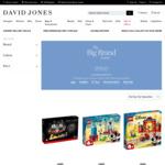 25% off Full-Priced LEGO (Excludes Creator Expert, Star Wars and Technic) @ David Jones