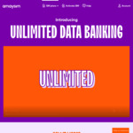 Unlimited Data Banking/Rollover with Any Active Plan (Excludes PAYG) @ amaysim