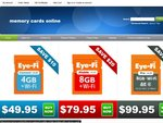 Eye Fi SDHC Cards - 4GB from $49.95 - 8GB from $79.95 - Shipping $3! - Warranty 12 Months