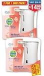 Dettol No Touch Hand Wash Grapefruit 2 for 1 Bonus Pack $14.99 (55% off) Chemist Warehouse
