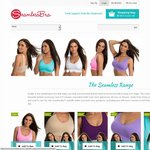 $5 for 3x Seamless Bras Direct from The Factory SAVE 88% (+ $9.95 P/H)