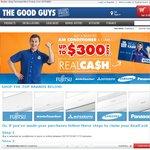 Samsung Aircon F-AR12FSSBWK1 3.5kw $745, F-AR24FSSSBWK1 7KW $1,095 at Good Guys after Cash Back