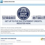 Up to $50 American Express Credit for Shopping with Small Business
