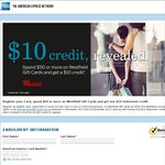 AMEX: Spend $50, Get $10 Back on Westfield Gift Cards (Supplementary Cards and Bank Issued Card)