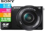 Sony NEX-3N 16.1MP Camera With SELP1650 Lens, $329 + $8 to Sydney @COTD