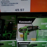 Kawasaki 18 Volt Lithium Ion Cordless Drill $49.97 [Costco Ringwood, VIC - Membership Required]