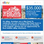 (Melbourne) eBay Big Deal Hunt $100-$1000 Vouchers in a Secret Location - Sunday 17th August
