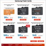 SAMSUNG Micro SDHC Class 10 16GB $9.50 32GB $18.50 Delivered @ Shopping Express