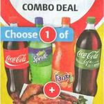 1.25l Coke Variety Drink + Coles Family Roast Chicken $9 (Nationwide)