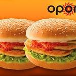 $2 Double Bondi Burger at Oporto Carillon City, Perth