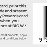 Big W - Spend $100 or More In-Store and Receive $20 Voucher [EDR Members]