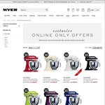 Take $100 off KitchenAid KSM150 at Myer - Online Sale Only - Was $749 Now $649