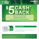 $5 Cashback - Telfast 180mg 70pk @ Chemist Warehouse ($29.99->$24.99) & My Chemist In-Store Only