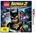 3DS Games - Lego Batman 2 $10, Lego Movie Videogame & Lego Ninjago $15 @ Target Instore