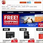 Samsung EVO 64GB MicroSDXC $25.95 and Samsung EVO+ 64GB $31.00 + Free Shipping @ Shopping Express