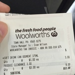 $1 Elastoplast Sensitive Strips (20per Box) and Other Clearance Items @ Town Hall Woolworths NSW