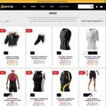 SKINS Outlet Compression Women Sleeves $14 Men $21 Short & Long Bottoms & Tops $45- $126 Tri $99