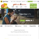 CyberGhost VPN - AU $37.49 for 1 Yr Premium VPN - Easter Surprise (50% off)
