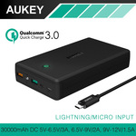 AUKEY 30000mAh Power Bank (QC 3.0 / AIpower) Dual USB Input/Output $42.45 Posted ($32.15 USD) @ AUKEY Official AliExpress Store