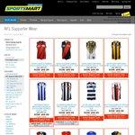 2016 Home/Away AFL Guernseys $69.99 + $10 Delivery @ Sportsmart