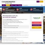 First Order Woolworths Cashback Increase @ Cashrewards - Now $30 (Was $20) - Combine with 1st Order Discount Code & Wish GC