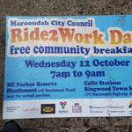 Free Community Breakfast @ Caffe Stazione, Ringwood/HE Parker Reserve, Heathmont (VIC) for Ride2Work Day- OCT 12th
