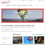 RedBalloon Save $15 When You Spend $69 or More