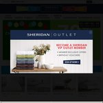 Sheridan Outlet 70% off Sheridan Branded Products (with Exclusions)